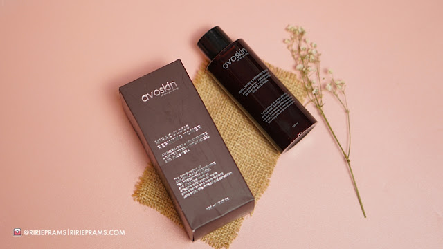 Avoskin Miraculous Refining Toner Review - beauty blogger indonesia - ririeprams