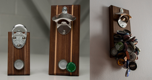 Drop Catch Wall Mounted Bottle Opener