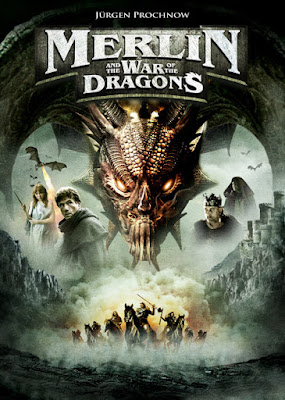 Merlin And The War Of The Dragons (2008) [Hindi – English] 720p HDRip 600MB
