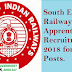 South Eastern Railway Apprentice Recruitment 2018 for 1785 Posts - Apply Online
