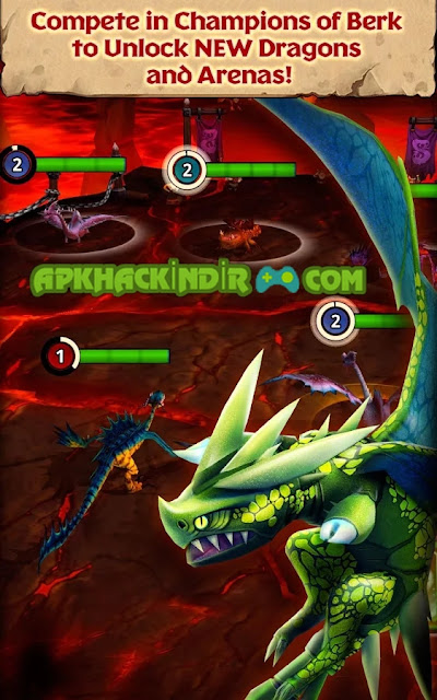 Dragons: Rise of Berk 1.27.8 apk