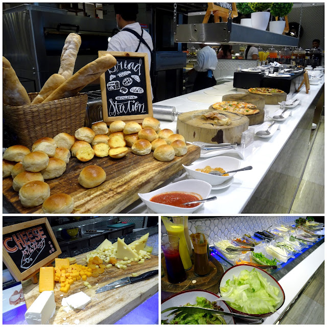 Bread Cheese Salad Stations Vikings Cebu