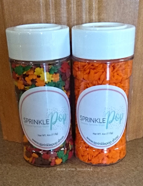 Fall Sprinkle Pops