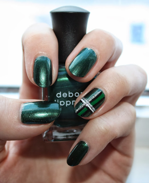 Deborah Lippmann Laughin' to the Bank Nail Polish Swatch