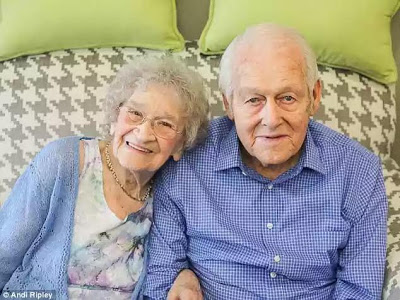 True Love! Couple both aged 99 celebrate 80th wedding anniversary and say their long union is due to honesty