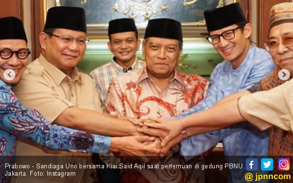 Ini Alasan Said Aqil Beri Kartu Anggota NU ke Prabowo
