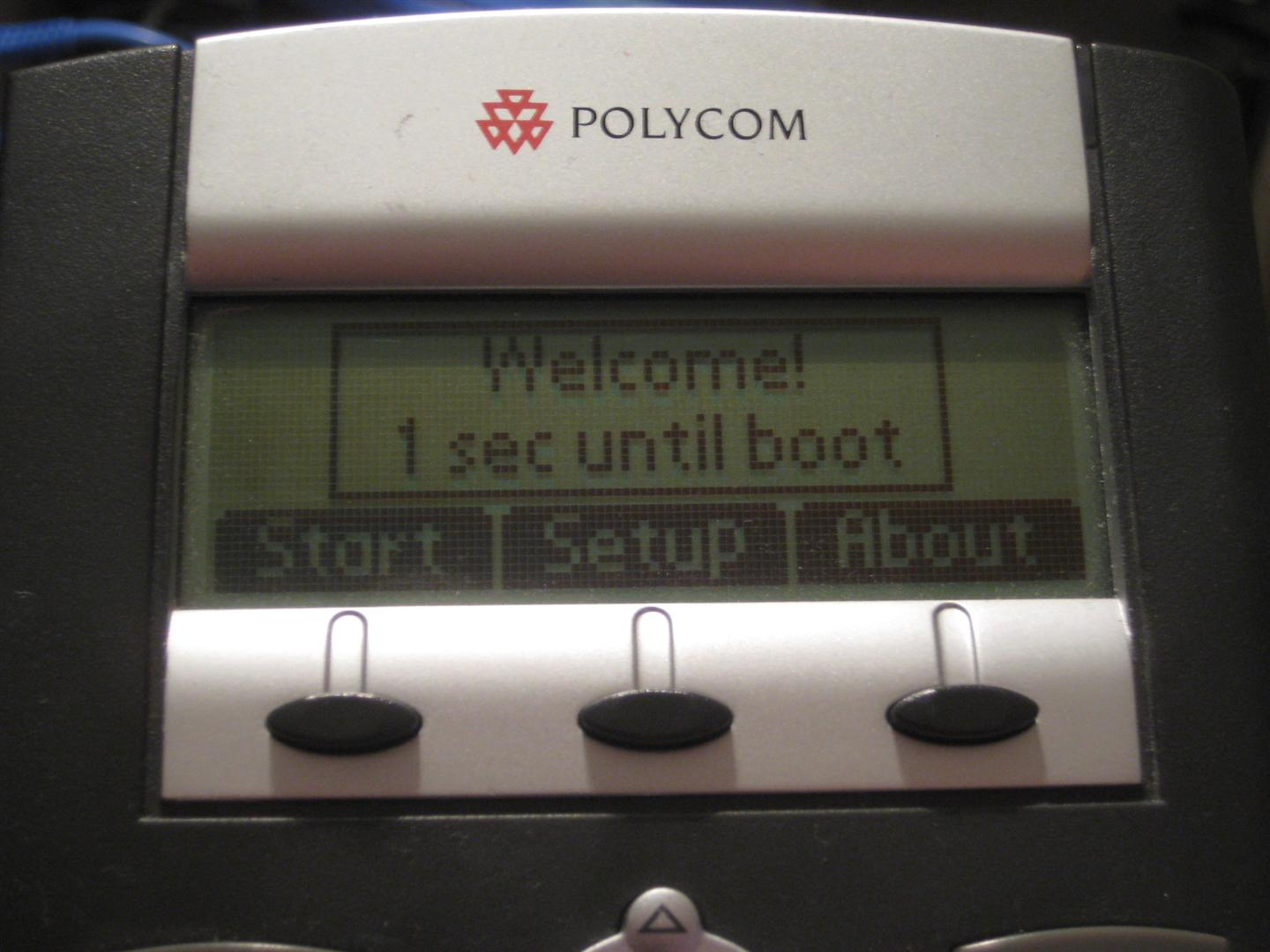 The Life of Kenneth: How to Configure a Polycom Soundpoint IP 330