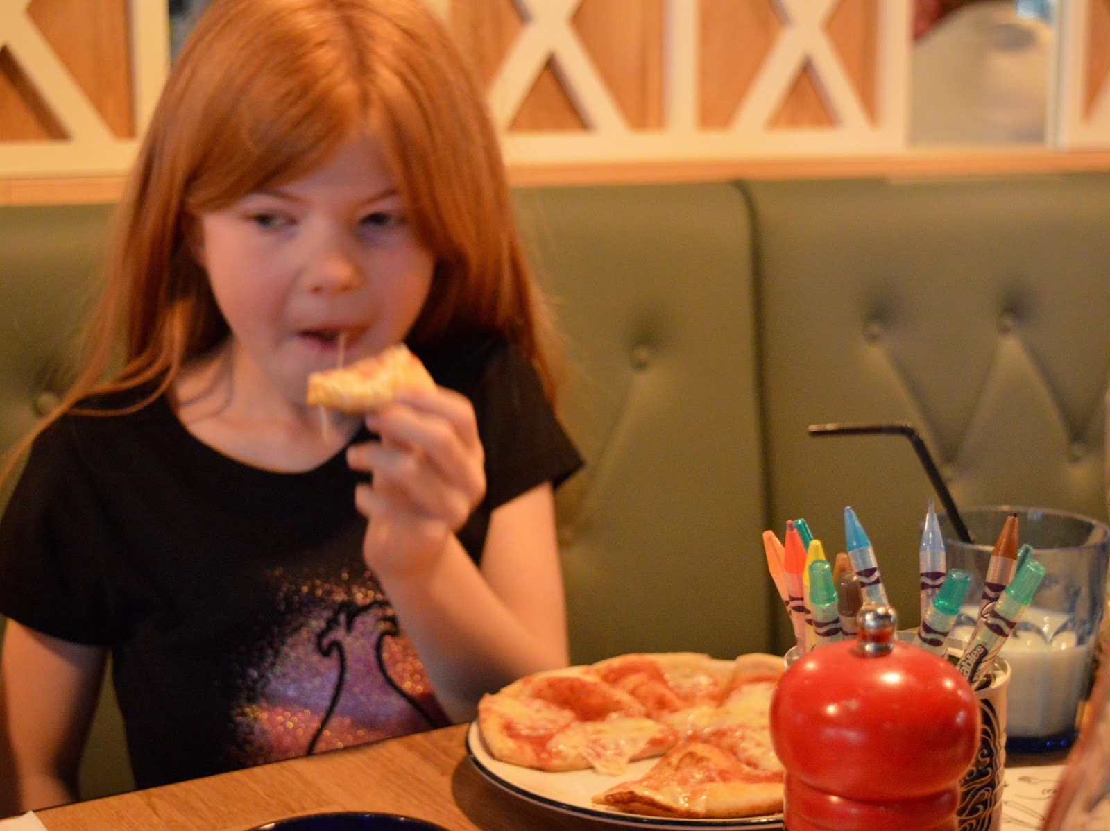 Remembering Metroland with Family Dining and the Kid's Menu at Pizza Express intu Metrocentre - children's pizza