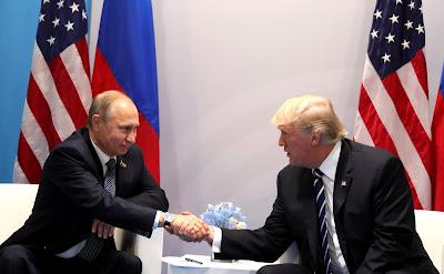 Vladimir Putin and Donald J. Trump.