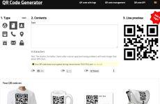 GoQR: generador de códigos QR personalizados online gratis