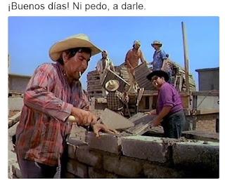 a construir el muro