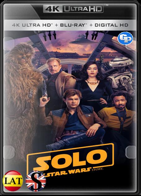 Han Solo: Una Historia De Star Wars (2018) 4K UHD LATINO/INGLES