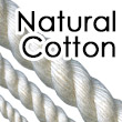 All Natural Cotton Rope for knot tying and home decor