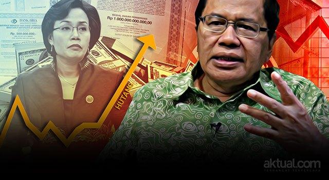 Rakyat Sungguh Dirugikan, Rizal Ramli Tuding Sri Mulyani 'Salah Asuh' Utang