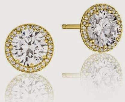 TACORI's 18k Yellow Gold 0.18ct Diamond Stud Earrings