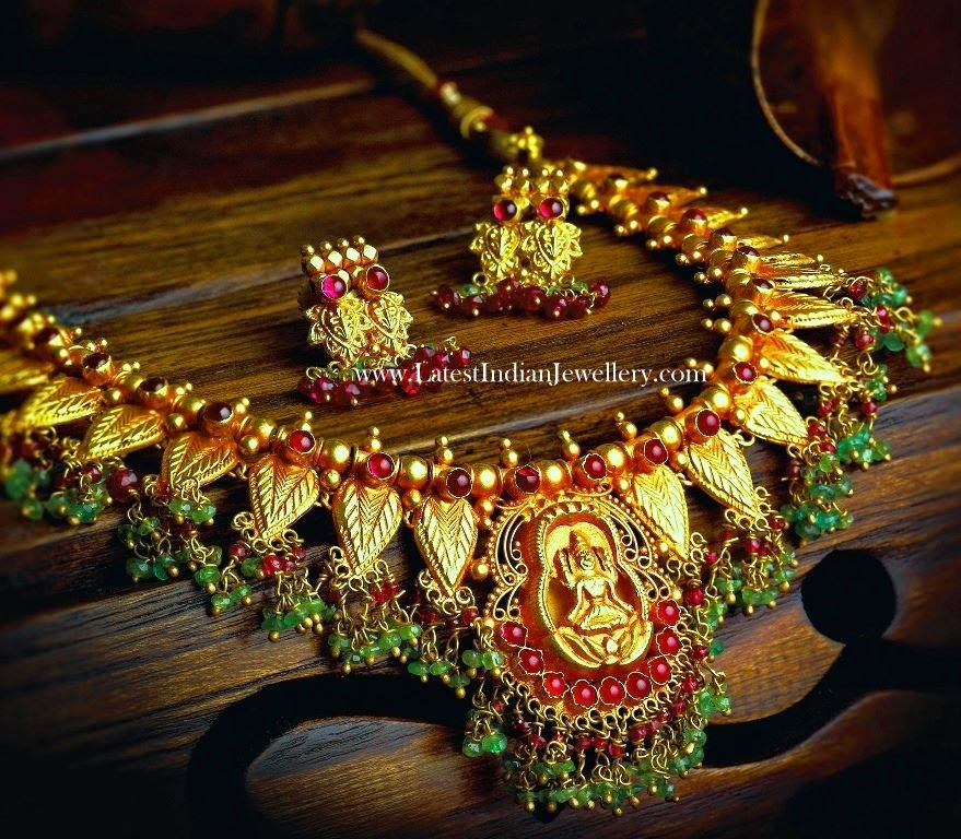South Indian Antique Jewellery Necklace