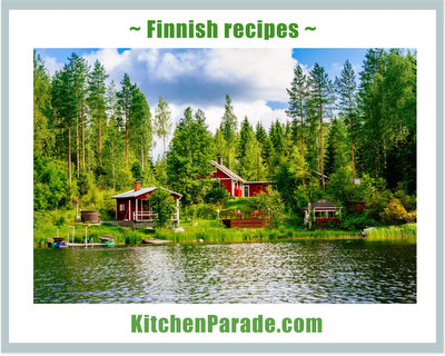 A collection of Finnish recipes ♥ KitchenParade.com.