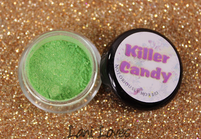Notoriously Morbid Demented Eyeshadow Swatches & Review