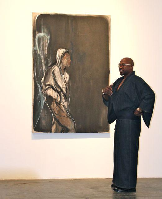 Donloe's Lowdown: Painter Chaz Guest Presents 'Buffalo Warrior'