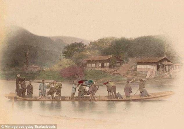 Begini Kenderaan Kuno Yang Digunakan Jepang Jaman Dulu Tahun 1900 an | liataja.com