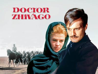 عمر الشريف فى فيلم Doctor Zhivago