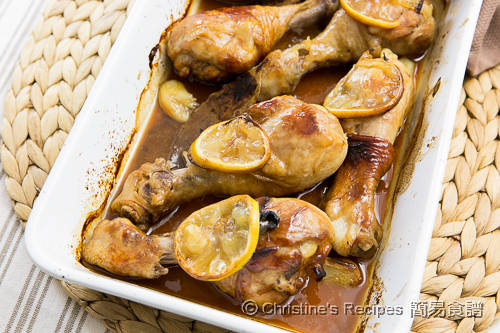 焗檸檬蜜糖小雞腿 Baked Honey Lemon Chicken Drumsticks02