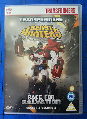 Transformers Beasthunters - Race For Salvation DVD Review