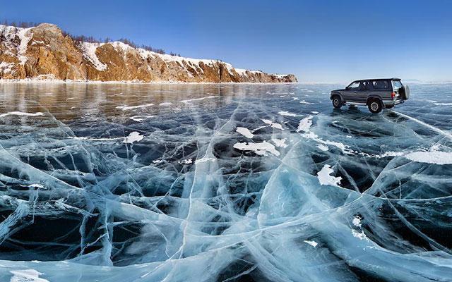 Danau Baikal, Rusia