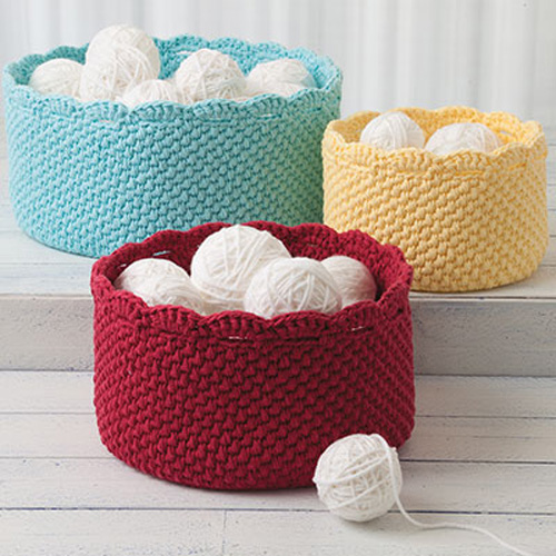 Baskets for All - Crochet Patterns