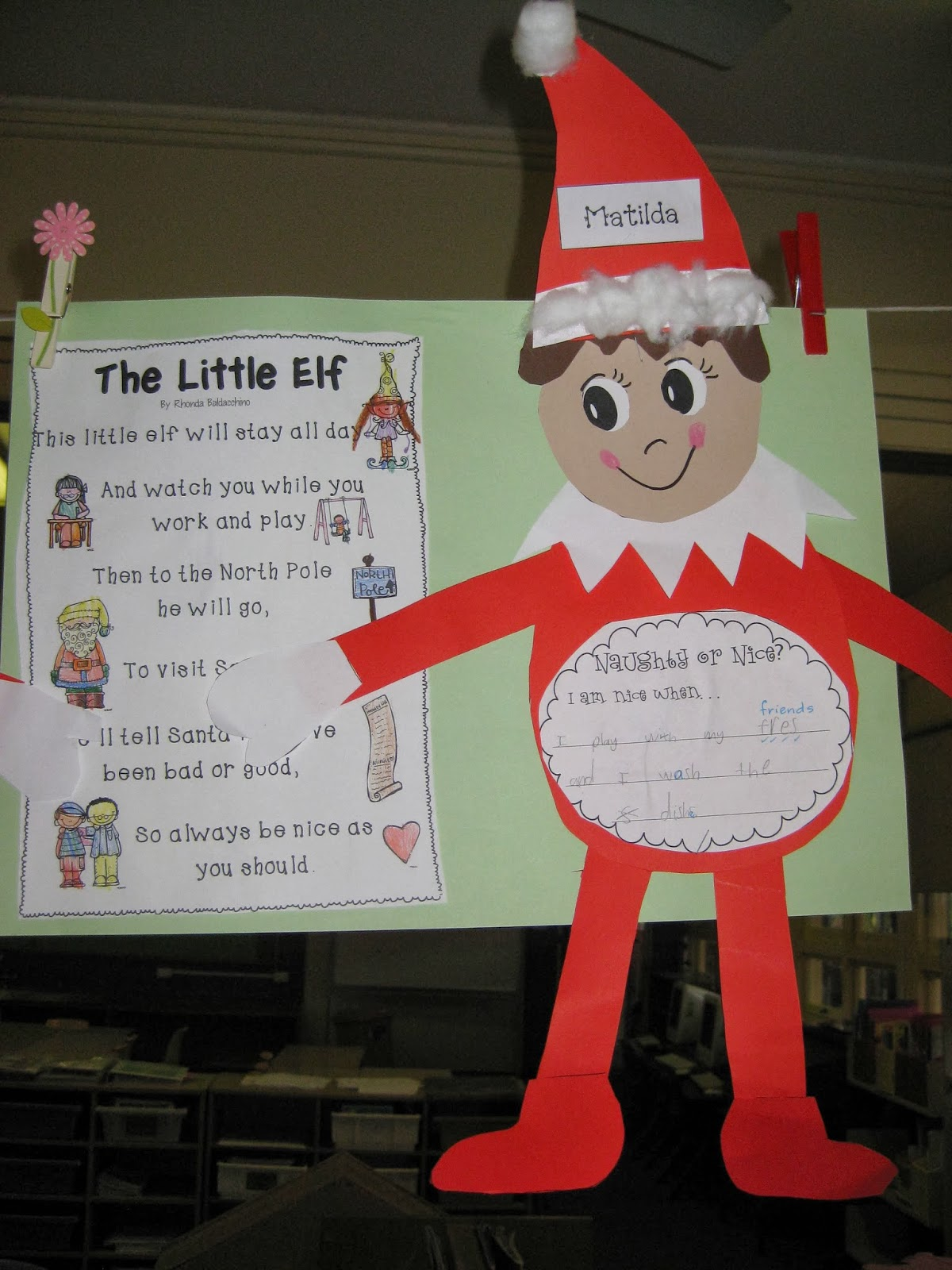 Classroom Fun Elf On The Shelf