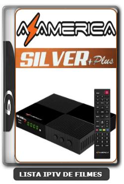 Azamerica Silver + Plus Nova Atualização Melhorias no sistema IKS e SKS 61w, 63w, 67w e 107w V1.14 - 09-06-2020