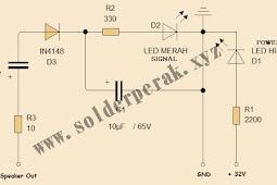 Cara Membuat Lampu Indikator Power Dan Signal Amplifier