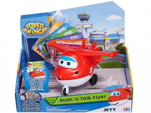 Super Wings Scan 'n Talk Flyer Jett