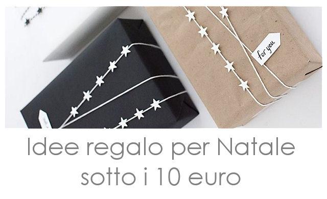 Regali Di Natale Sotto 10 Euro.Amo La Mia Casa Blogmas 19 Idee Regalo Per Natale Sotto I 10 Euro