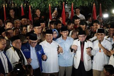 Prabowo Subianto-Sandiaga Uno Maju Pilpres 2019