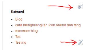 Cara Ampuh Menghilangkan Icon Obeng dan Tang