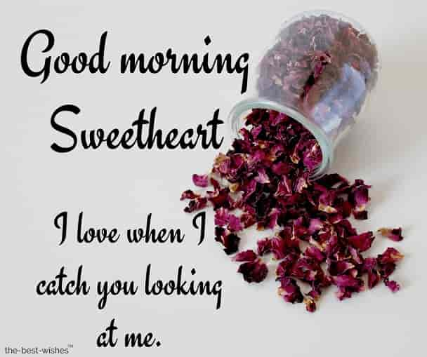 photo of good morning sweetheart