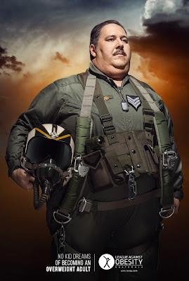 Pilo aviador con obesidas