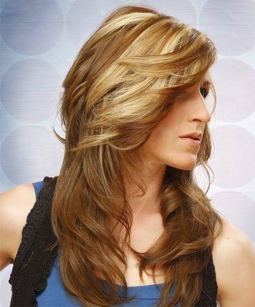 Blonde Hair With Auburn Lowlights
