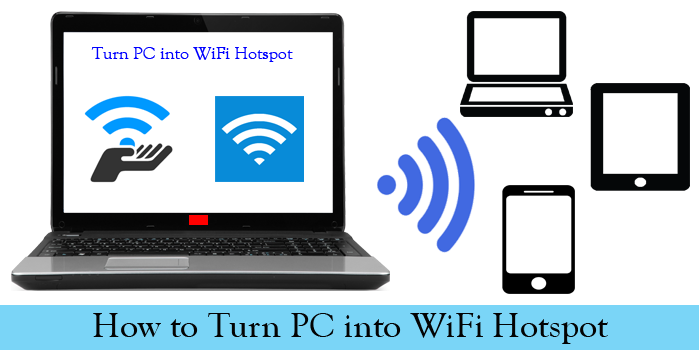 HOW TO USE YOUR LAPTOP/PC AS Wi-Fi HOTSPOT ? - TECHPHLIE