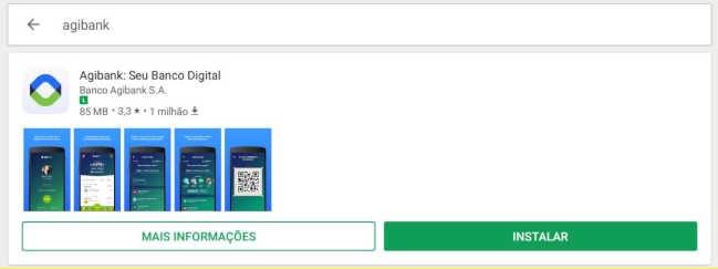 Aplicativo Agibank