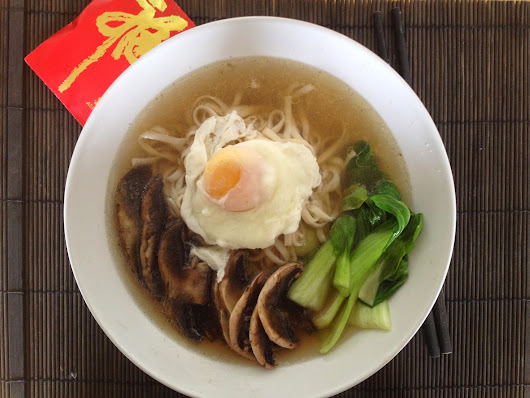 Chinese New Year: Simple Noodle Soup