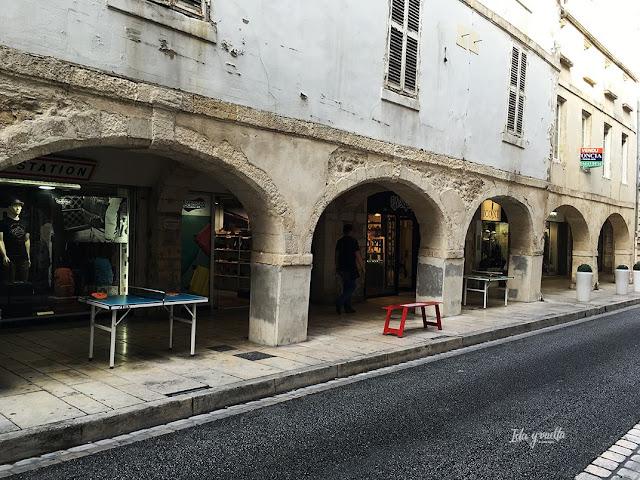 Un día en La Rochelle Rue des Merciers