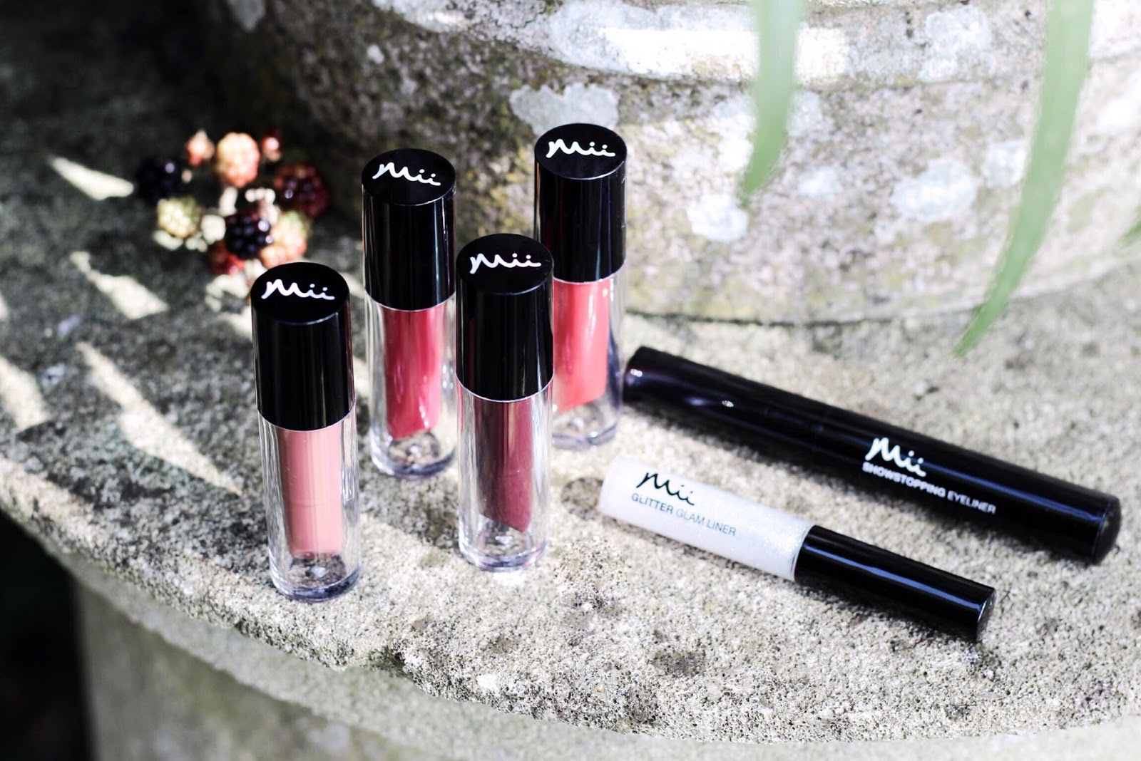Mii Cosmetics Supernova Lip Cremes Blog Review