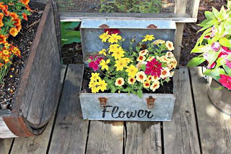 A Favorite Junk Garden Planter