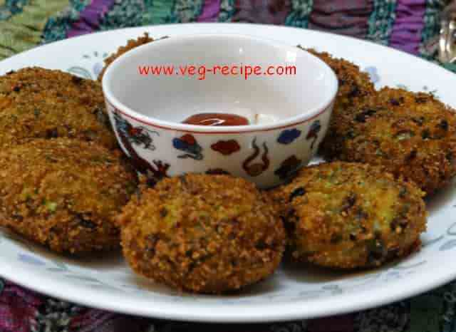 Veg Hara Bhara Kabab Recipe | Spinach and Green Peas Cutlet