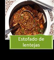 ESTOFADO DE LENTEJAS