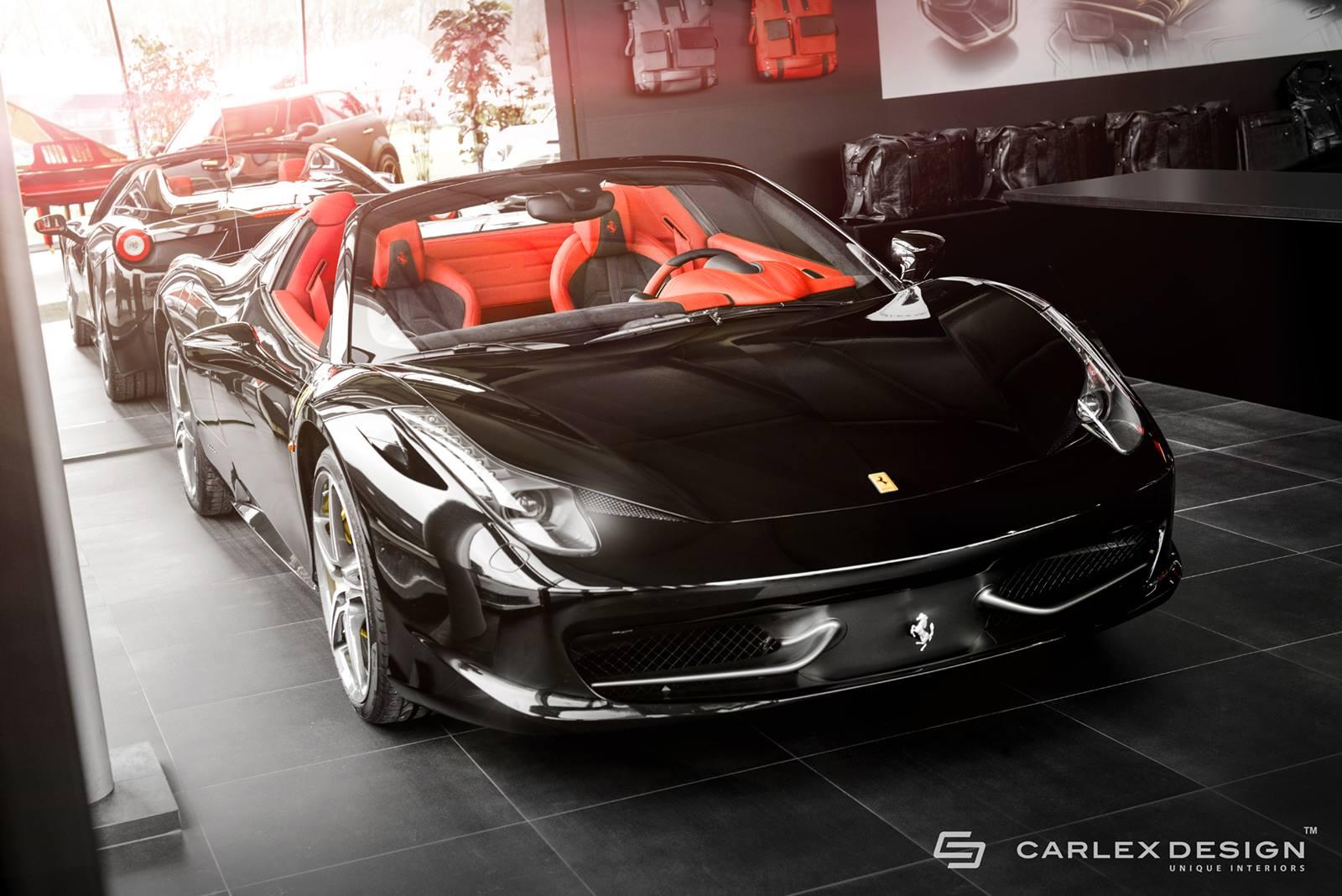 Ferrari 458 Spider độ đẹp và hầm hố