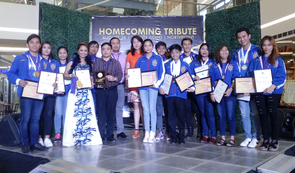 SM City gives tribute to Ilonggo WCOPA winners
