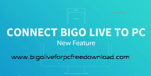 How to use bigo live pc